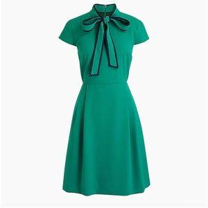 "J. Crew || Tie-Neck Dress in ""365 Crepe"""